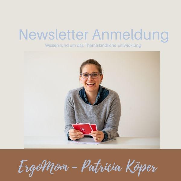 Newsletter Anmeldung ErgoMom
